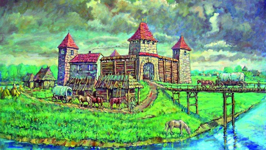 Zamek w Mielcu