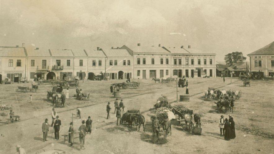 Rynek w Mielcu